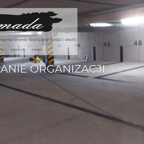 Malowanie znaków na ścianach - Warszawa