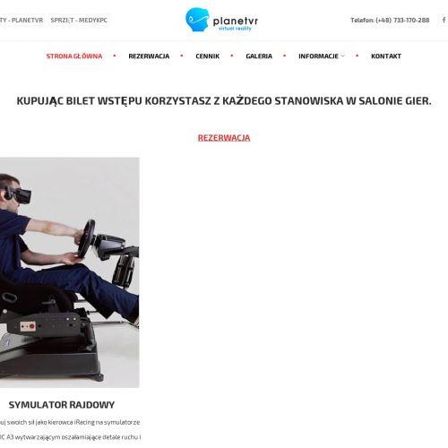 Centrum wirtualnej rzeczywistości - Poznań