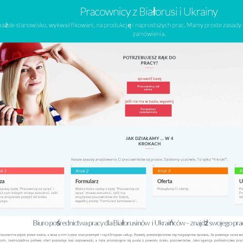 Agencja pracy dla Białorusinów
