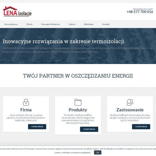 Cienka izolacja termiczna - Gdynia