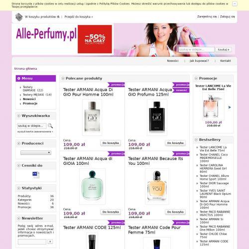 Markowe perfumy online