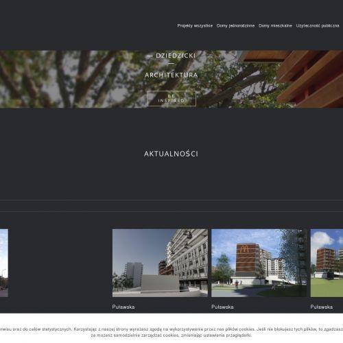Projekt mieszkania - Mokotów