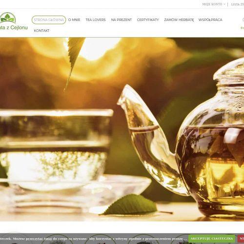Ziołowa herbata z Azji