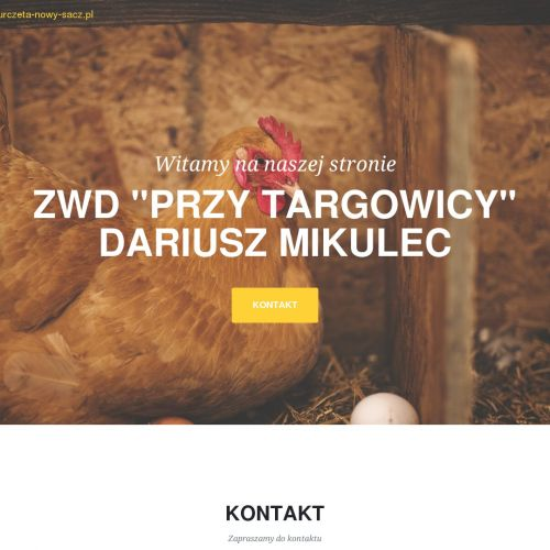 Wylęgarnia drobiu - Nowy Sącz