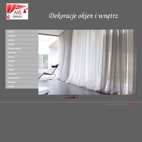 Firany - Warszawa Wola