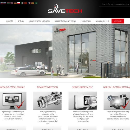 Modernizacja maszyn CNC
