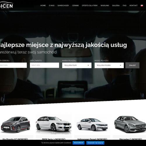 Wynajem Audi A4 w Warszawie