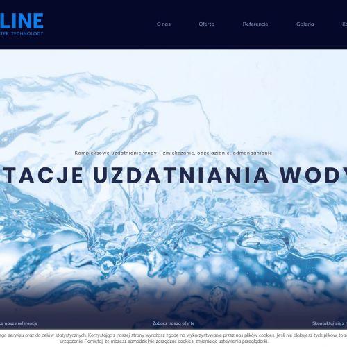 Przemysłowych stacji uzdatniania wody