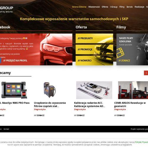 Projektowanie serwisów samochodowych