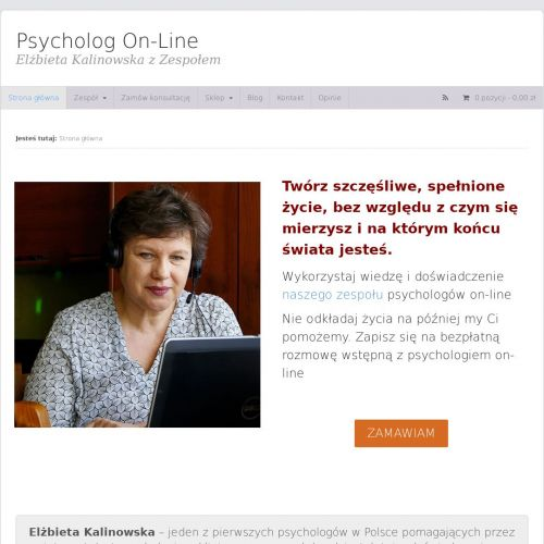 Rozmowa z psychologiem online