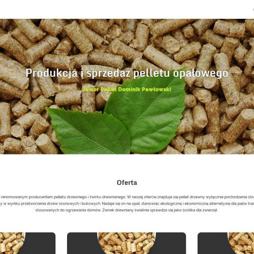Sprzedaż pelletu opałowego w Puszczykowie