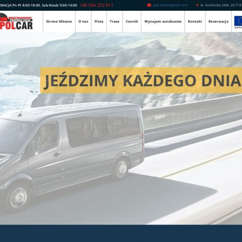 Przewozy osób busem z Lublina do Niemiec