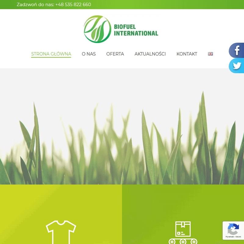 Biopaliwo z odzieży używanej.