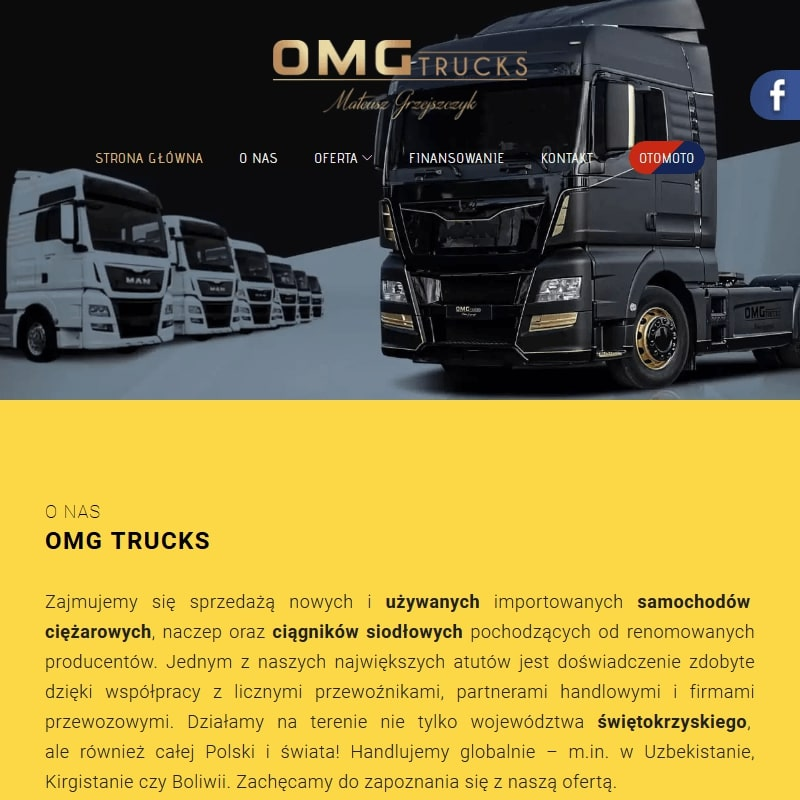 Używane ciężarówki marki Scania
