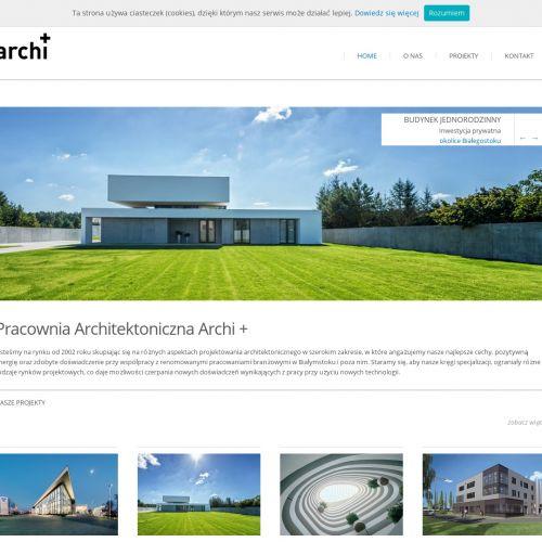 Projekty budynków usługowo-mieszkalnych