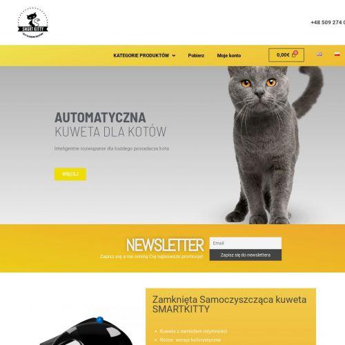 Automatyczne kuwety dla kotów