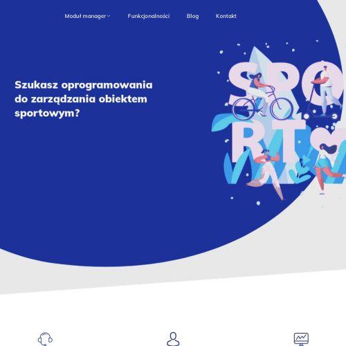 Aplikacja do obsługi obiektów sportowych