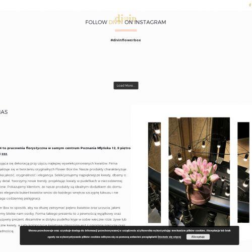 Pracownia florystyczna z Poznania