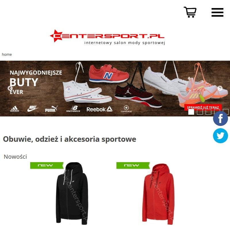 Sklep internetowy z modą sportową