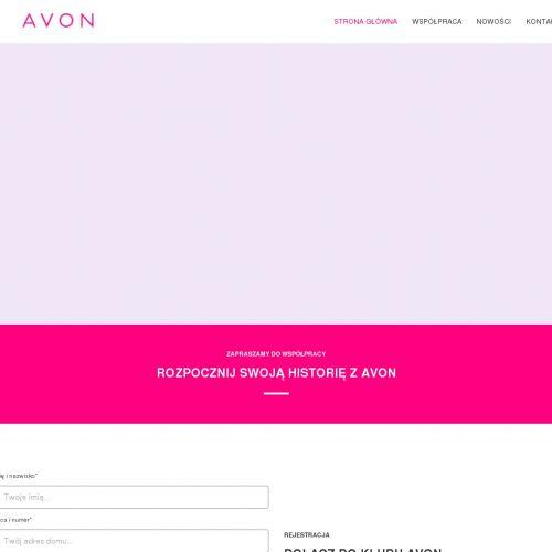 Program dla nowych konsultantek Avon