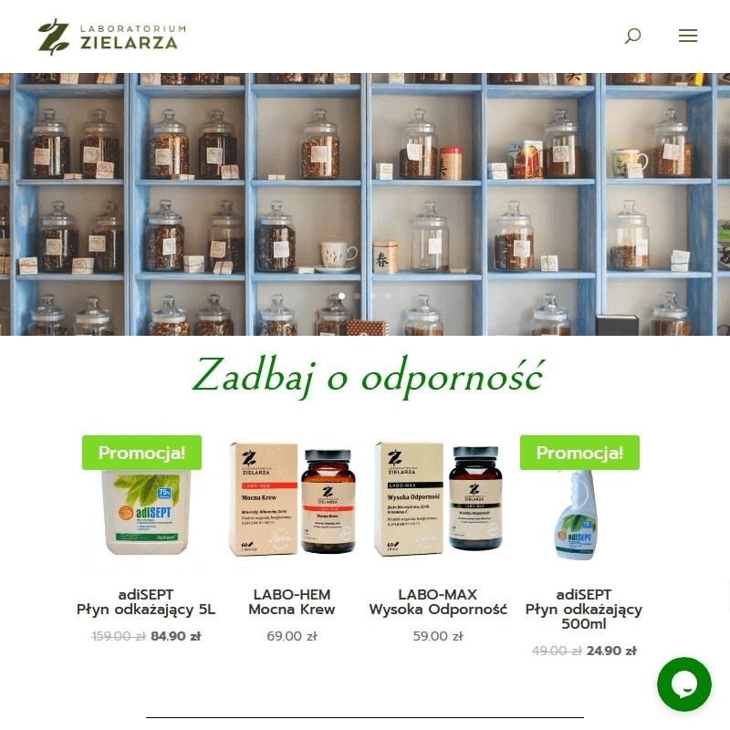 Preparaty ziołowe z zielarni online
