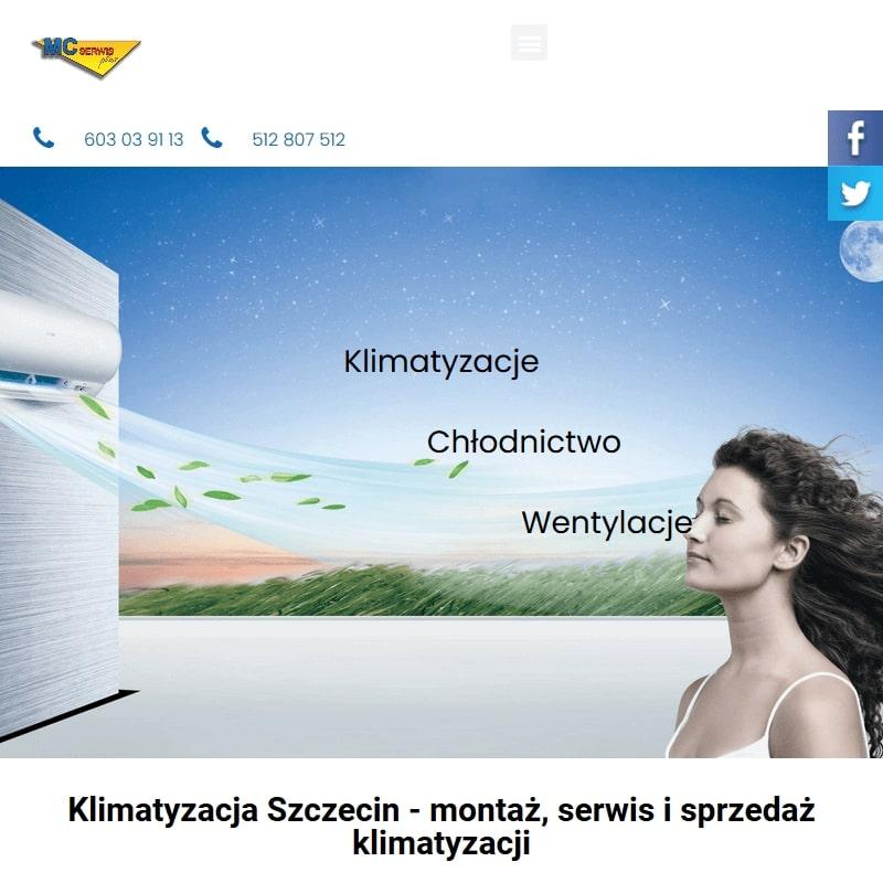 Montażu klimatyzacji na terenie Szczecina