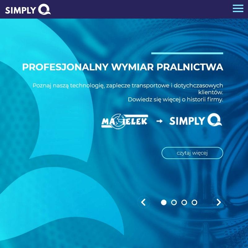 Pralnia przemysłowa w Krakowie
