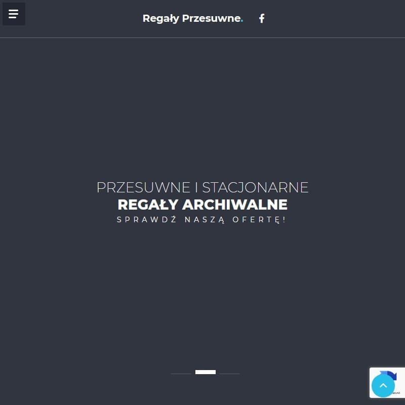 Regały na dokumenty do archiwum