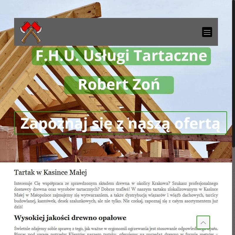 Drewno opałowe dla Klientów z Małopolski