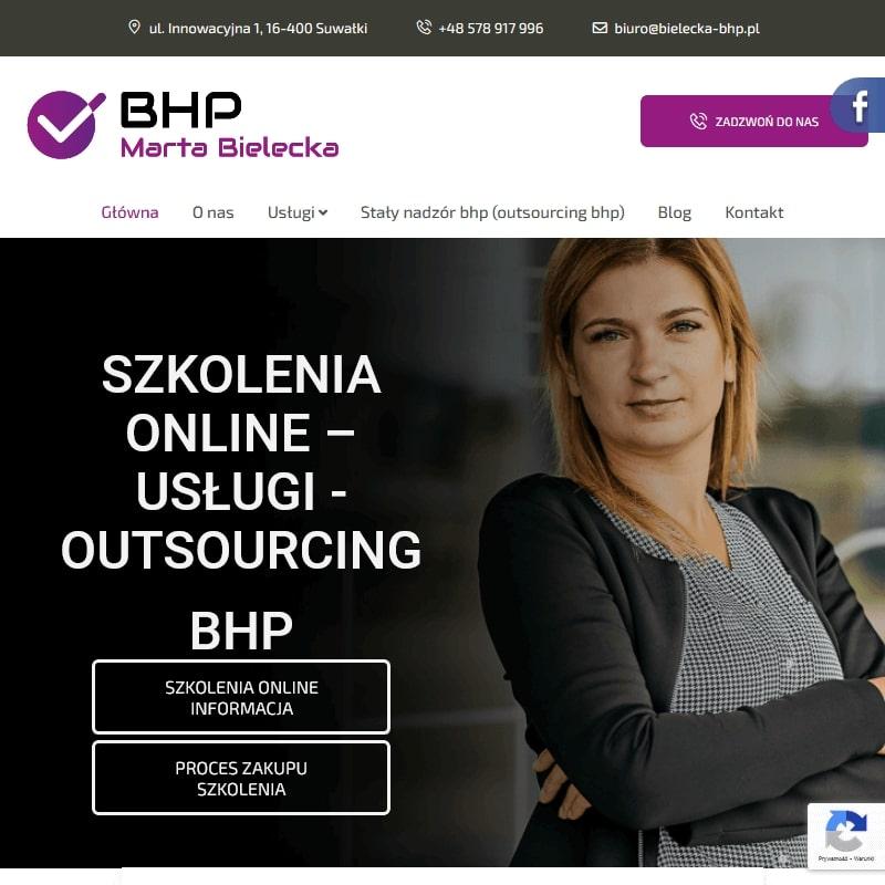 Szkolenia okresowe BHP online dla służb
