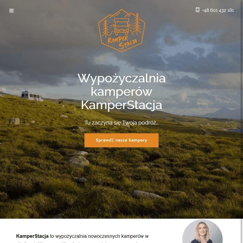 Wynajem kamperów – Warszawa
