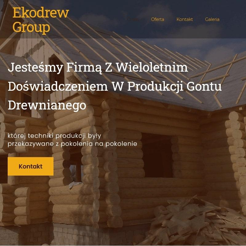 Firma budująca domy z drewna