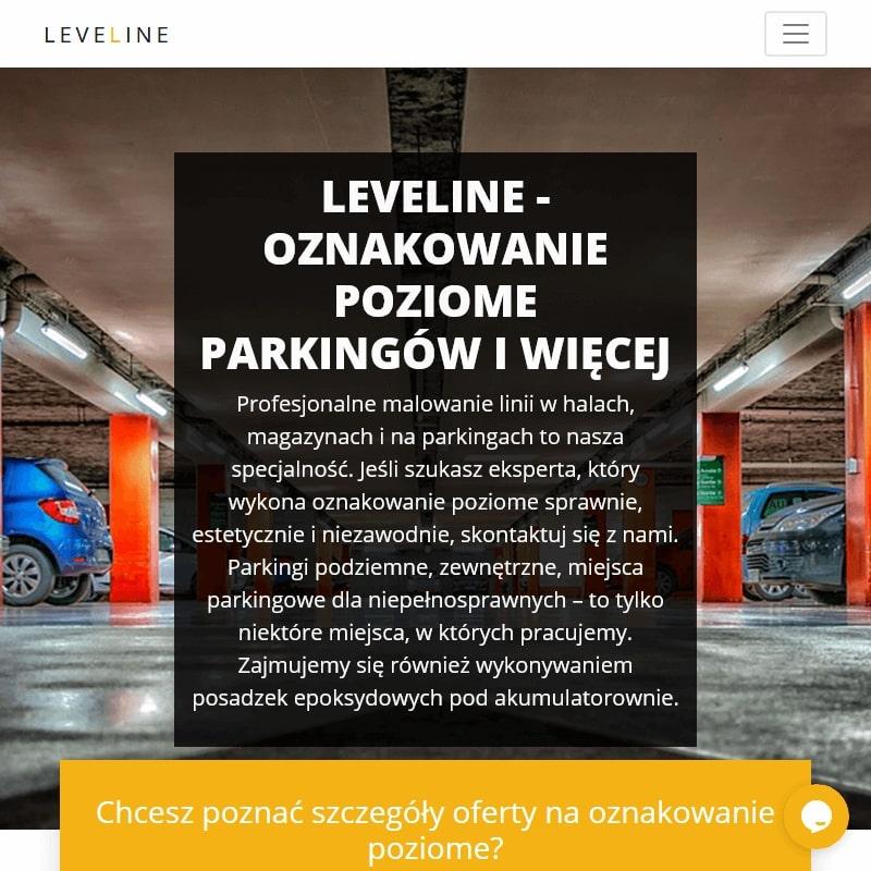 Oznakowanie poziome miejsc parkingowych