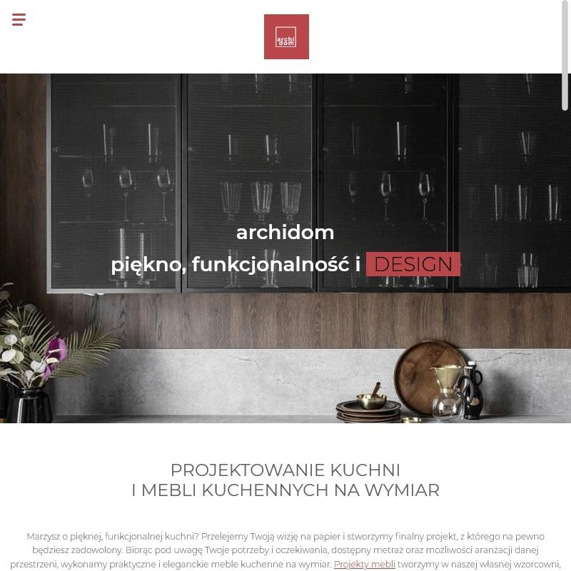 Studio mebli kuchennych w Krakowie