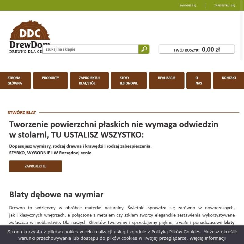 Blaty na zamówienie – Warszawa