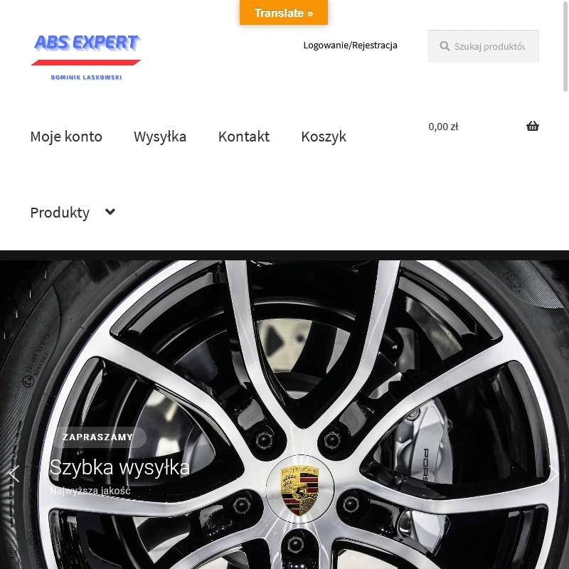 Pompy ABS do Chevroleta Captiva.