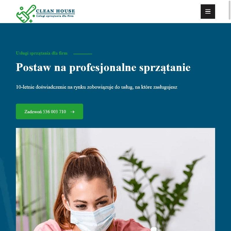 Usługi sprzątające w Warszawie