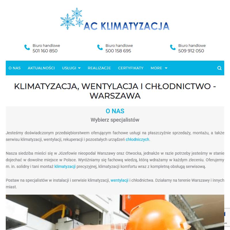 Klimatyzacja -Warszawa
