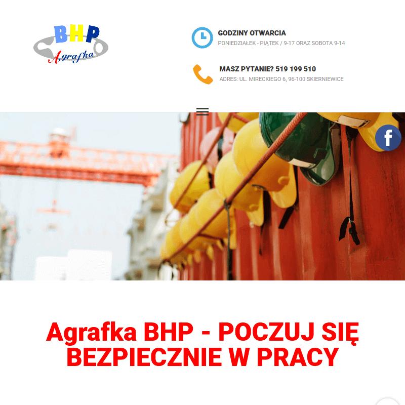 Sklep z artykułami BHP