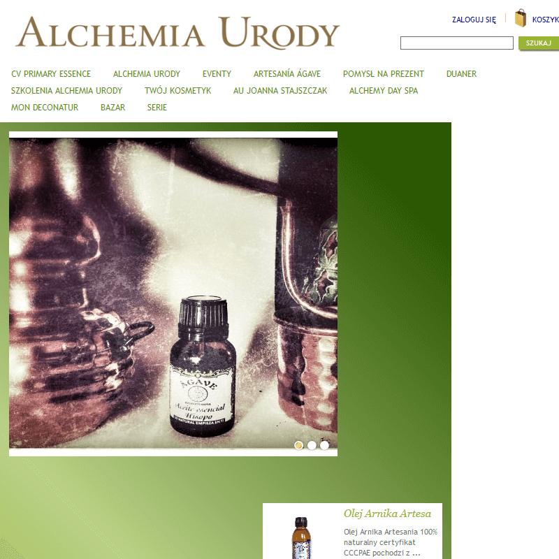Sklep kosmetyczny - olejki, świece do masażu