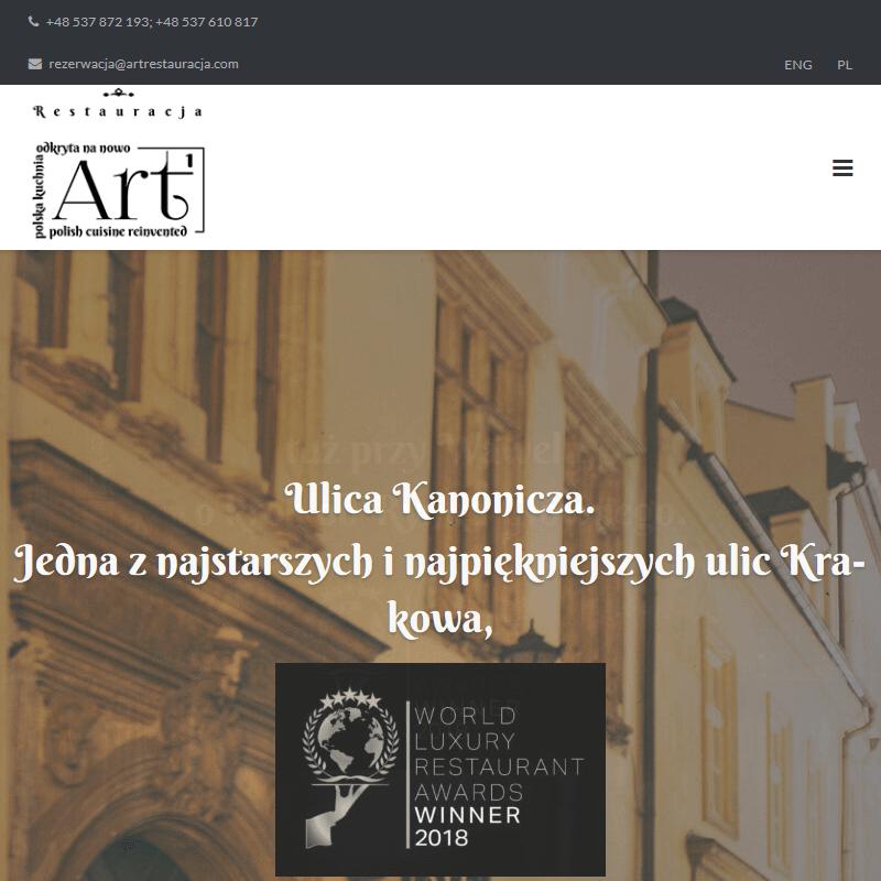 Znakomita kuchnia - Kraków