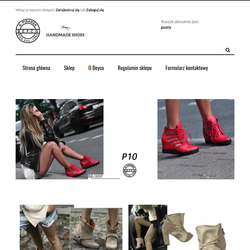 Handmade buty - Sklep internetowy