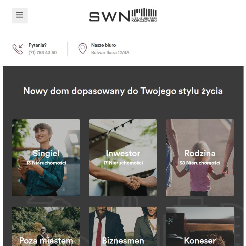 Agencja nieruchomości - Wrocław