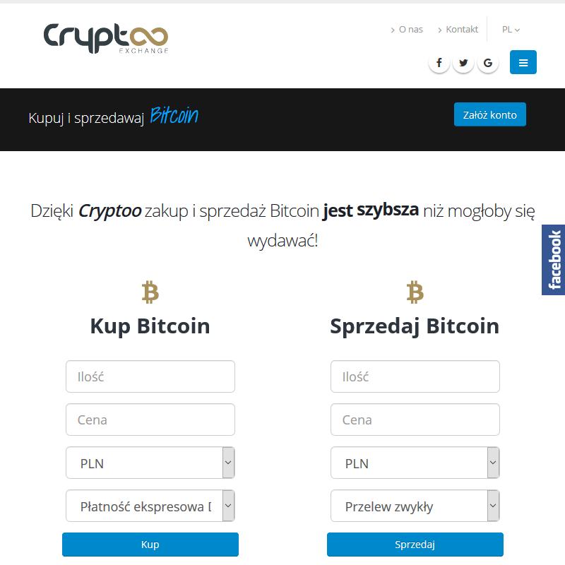 Szybki zakup Bitcoin