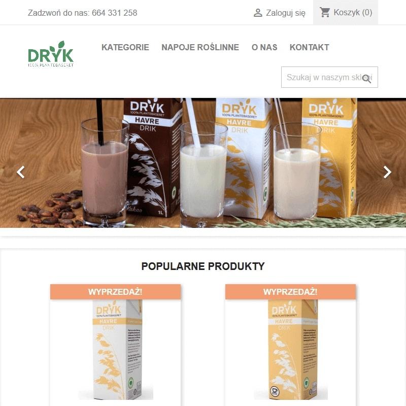 Mleko roślinne dla baristów