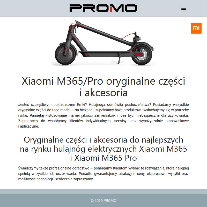 Panele sterowania do Xiaomi M365