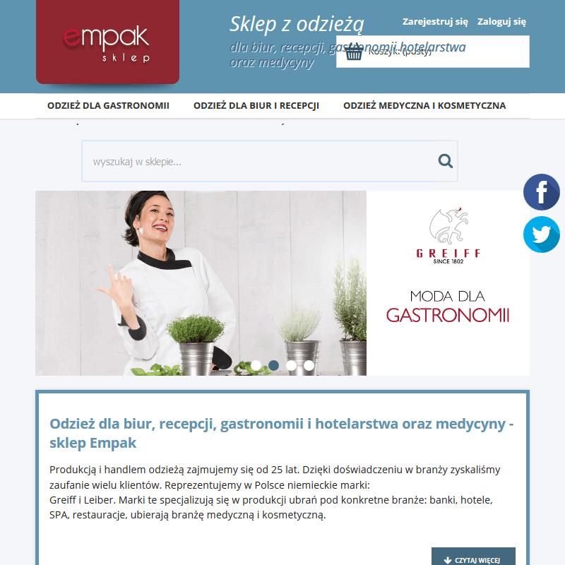Koszule damskie dla gastronomii - Szczecin