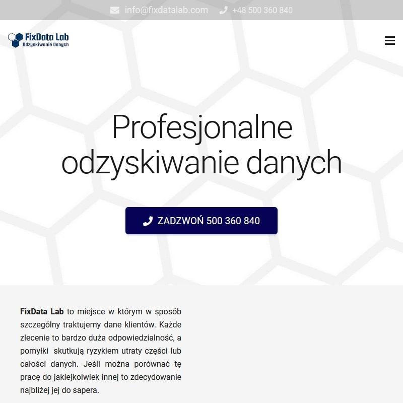 Przywracanie usuniętych danych w Warszawie