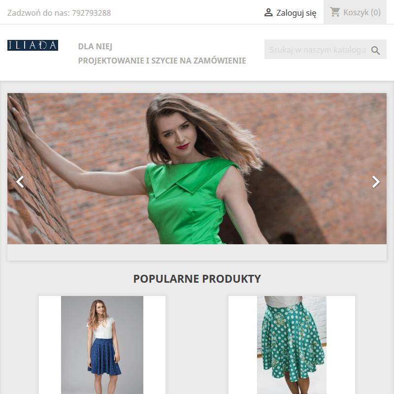 Projektowanie i szycie ubrań damskich