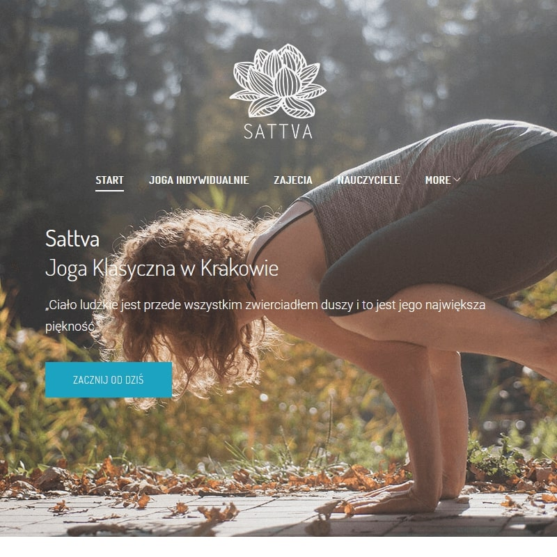 Zajęcia indywidualne jogi w Krakowie